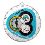 Skylab 3 Mission Patch Dartboard With Darts