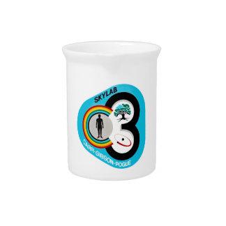 Skylab 3 Mission Patch Drink Pitcher