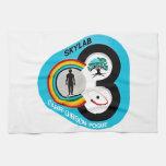 Skylab 3 Mission Patch Hand Towel