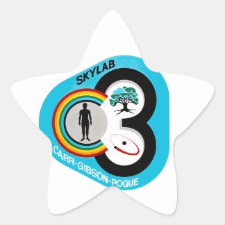 Skylab 3 Mission Patch Star Sticker