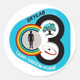Skylab 3 Mission Patch Sticker