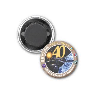 SKYLAB:  40th Anniversary Logo! Magnet