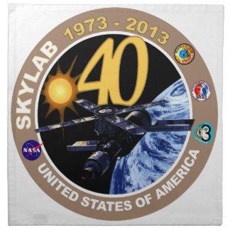 SKYLAB:  40th Anniversary Logo! Napkin