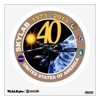 SKYLAB:  40th Anniversary Logo! Wall Sticker