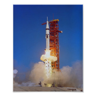 Skylab 4 Launch Poster