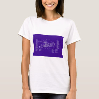 Skylab blueprint T-Shirt