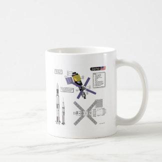 Skylab Illustration Classic White Coffee Mug