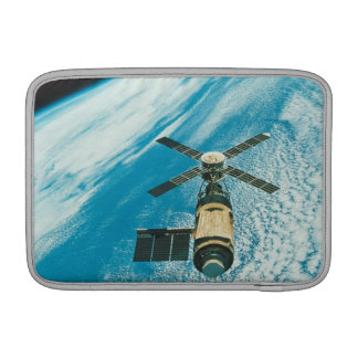 Skylab over Earth MacBook Air Sleeves