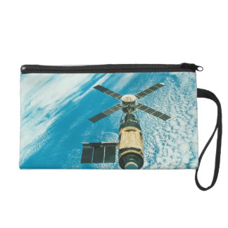 Skylab over Earth Wristlet Purse