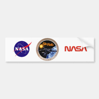 Skylab Program Logo Bumper Sticker