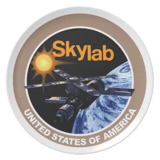 Skylab Program Logo Melamine Plate