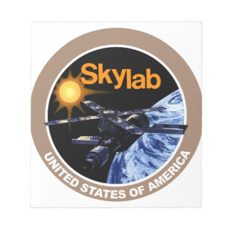 Skylab Program Logo Notepad