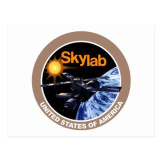 Skylab Program Logo Postcard