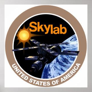 SKYLAB Program Logo Poster