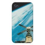 Skylab sobre la tierra iPhone 4/4S carcasas