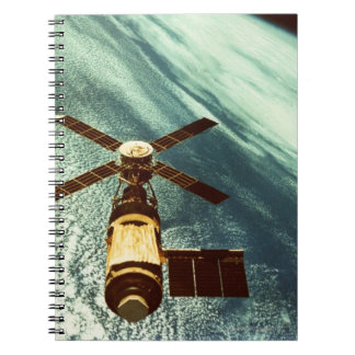 Skylab Space Station in Space Notebook