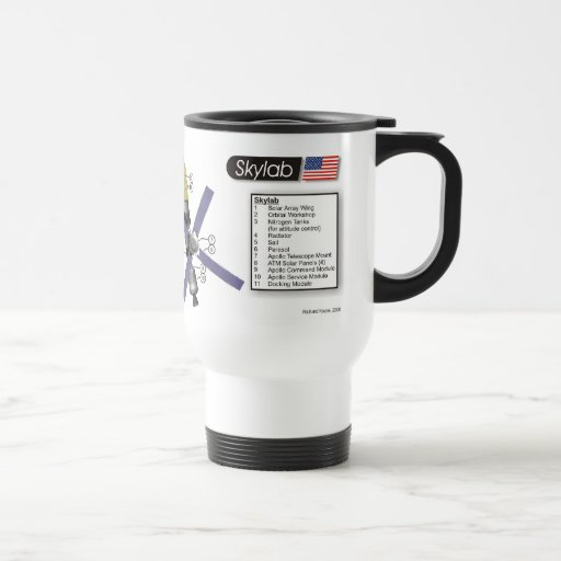 Skylab Space Station Mug