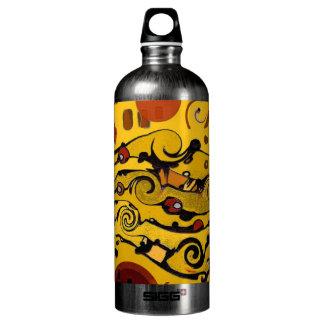 Skyland - Abstract Aluminum Water Bottle