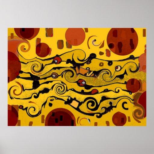 Skyland - Abstract Poster