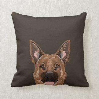 Skylar - German Shepherd dog gifts for dog people Throw Pillow