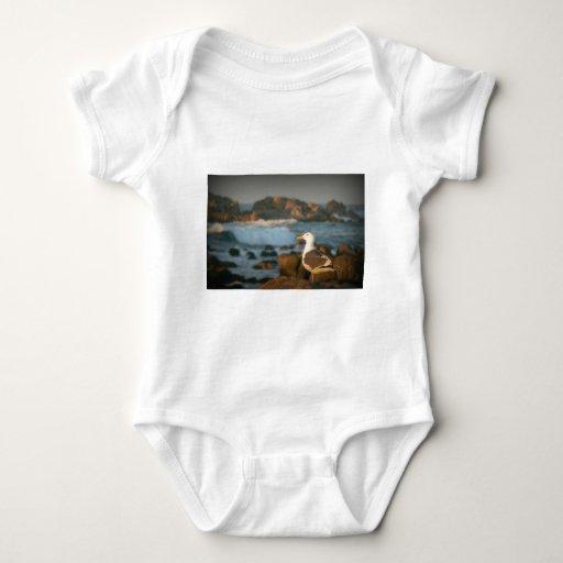 Skylark Seagull Baby Bodysuit