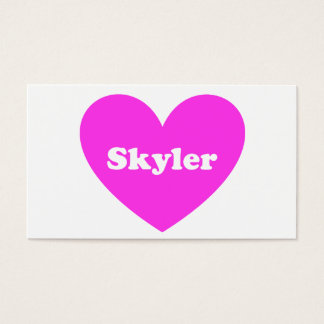 Skyler Business Card