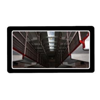 Skylight at Alcatraz Prison Shipping Label