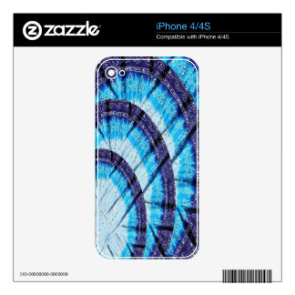 Skylight Church Window Havenly Blue Temple Art Decal For iPhone 4