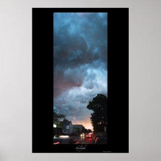Skylight - Sunset photo Poster