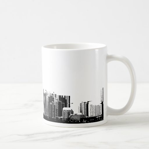 Skyline 11 taza clásica