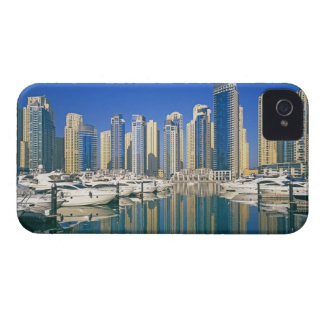 Skyline and boats on Dubai Marina Case-Mate iPhone 4 Case