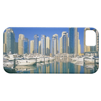 Skyline and boats on Dubai Marina iPhone SE/5/5s Case