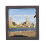 Skyline and river of quaint town of Inverness Gift Box