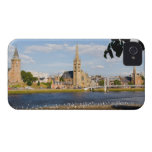 Skyline and river of quaint town of Inverness iPhone 4 Case-Mate Cases