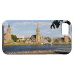 Skyline and river of quaint town of Inverness iPhone SE/5/5s Case