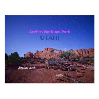 Skyline Arch Postcards