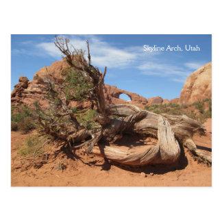 Skyline Arch, Utah Postcards