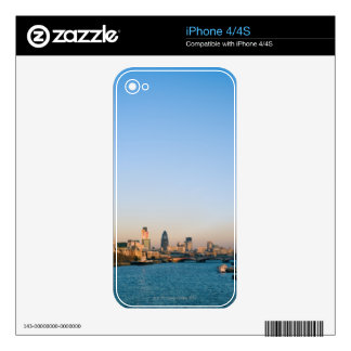 Skyline at Sunset iPhone 4S Decal
