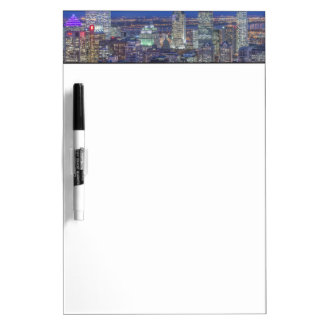 Skyline at twilight 2 Dry-Erase boards