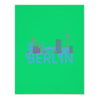Skyline Berlin Personalized Invitations