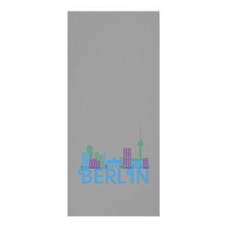 Skyline Berlin Rack Card Template