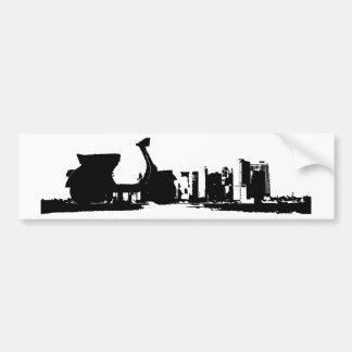 Skyline Bumper Stickers
