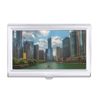 Skyline Chicago Business Card Cases