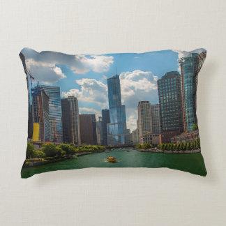 Skyline Chicago Decorative Pillow