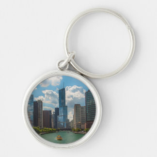 Skyline Chicago Keychain