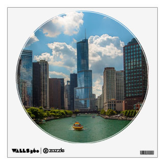 Skyline Chicago Wall Decal