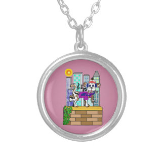 Skyline Chilly Chili Dog Silver Plated Necklace