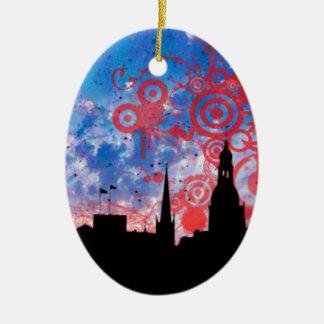 Skyline Christmas Ornaments