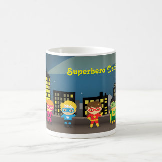 Skyline Cute Superhero For Kids Coffee Mug