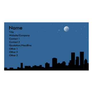 Skyline Double-Sided Standard Business Cards (Pack Of 100)